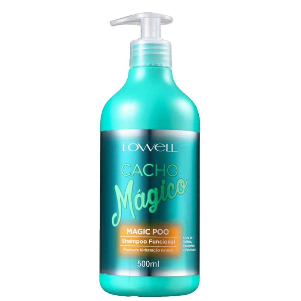 Shampoo Lowell Cacho mágico Magic Poo 500ml