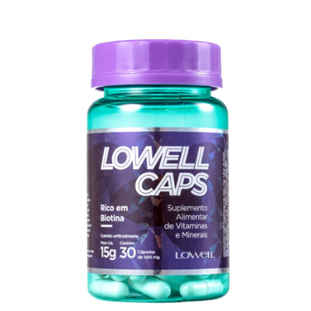 Lowell Caps Suplemento de Vitaminas e Minerais 15g