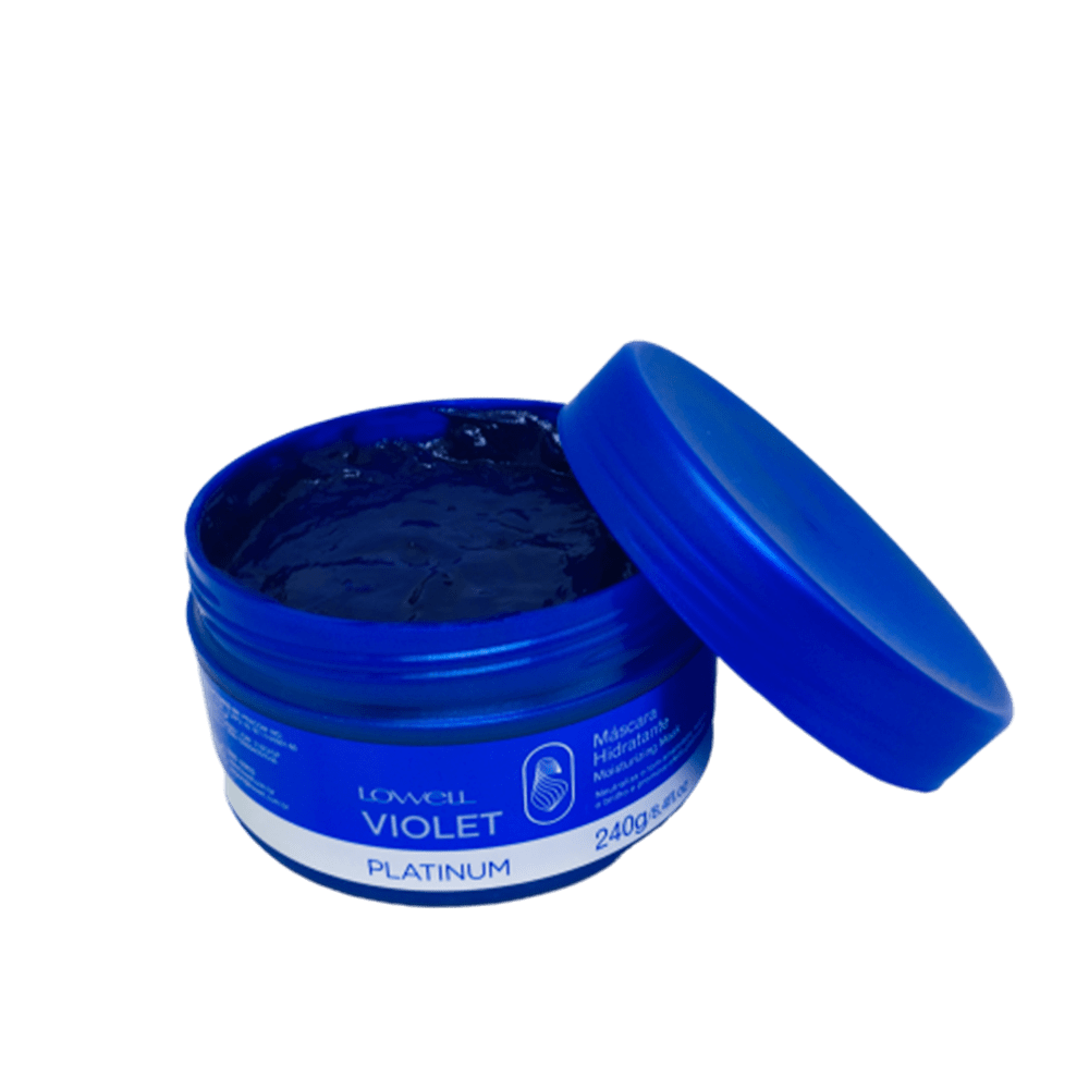 Máscara Hidratante Lowell Violet Platinum 240g