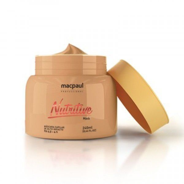 Mac Paul Máscara Nutritive - 240g