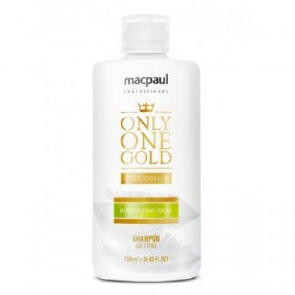 Shampoo Only One Gold  Coconut MacPaul 250ml