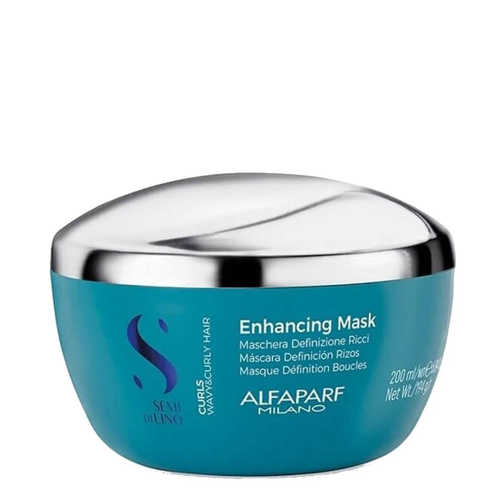Máscara Alfaparf Semi Di Lino Para cabelos Cacheados 200ml