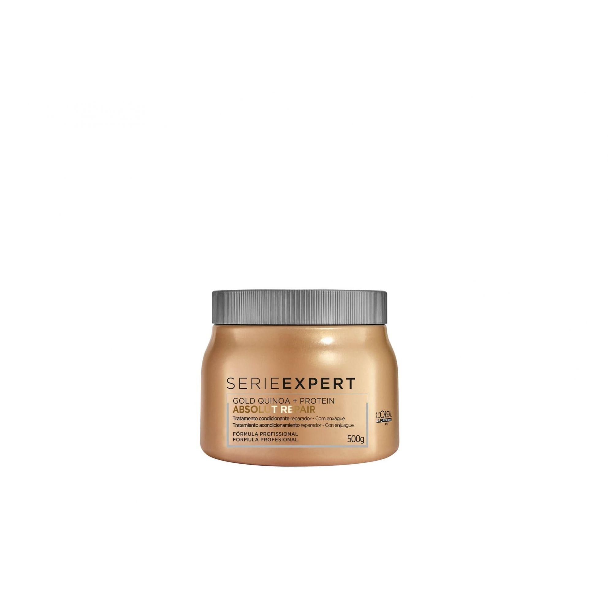Máscara L'Oréal Professionnel Absolut Repair Gold Quinoa + Protein 500g