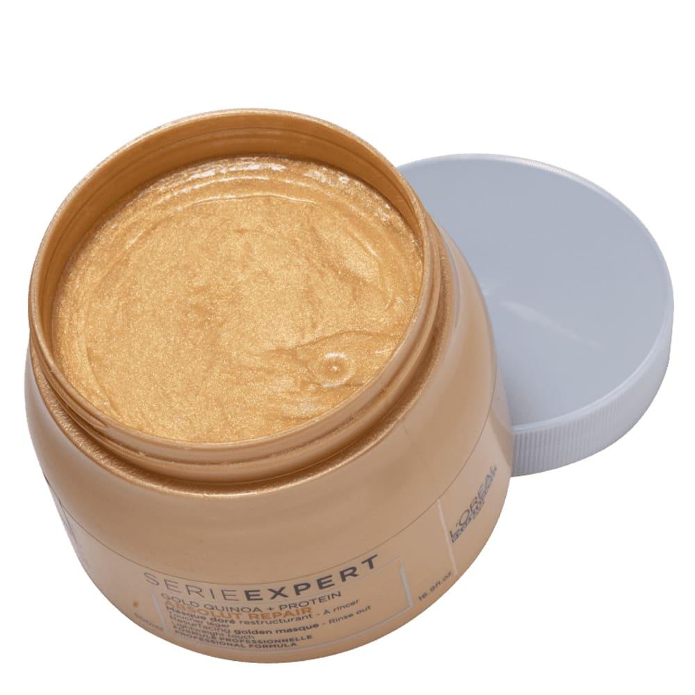 Máscara L'oreal Professionnel Gold Quinoa + Protein Golden Lightweight 500g