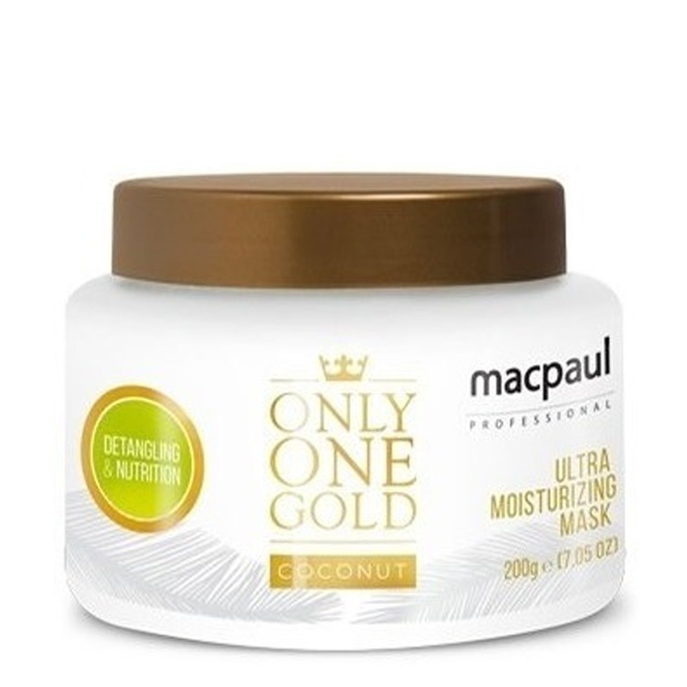 Máscara MacPaul Only One Gold Coconut 200g