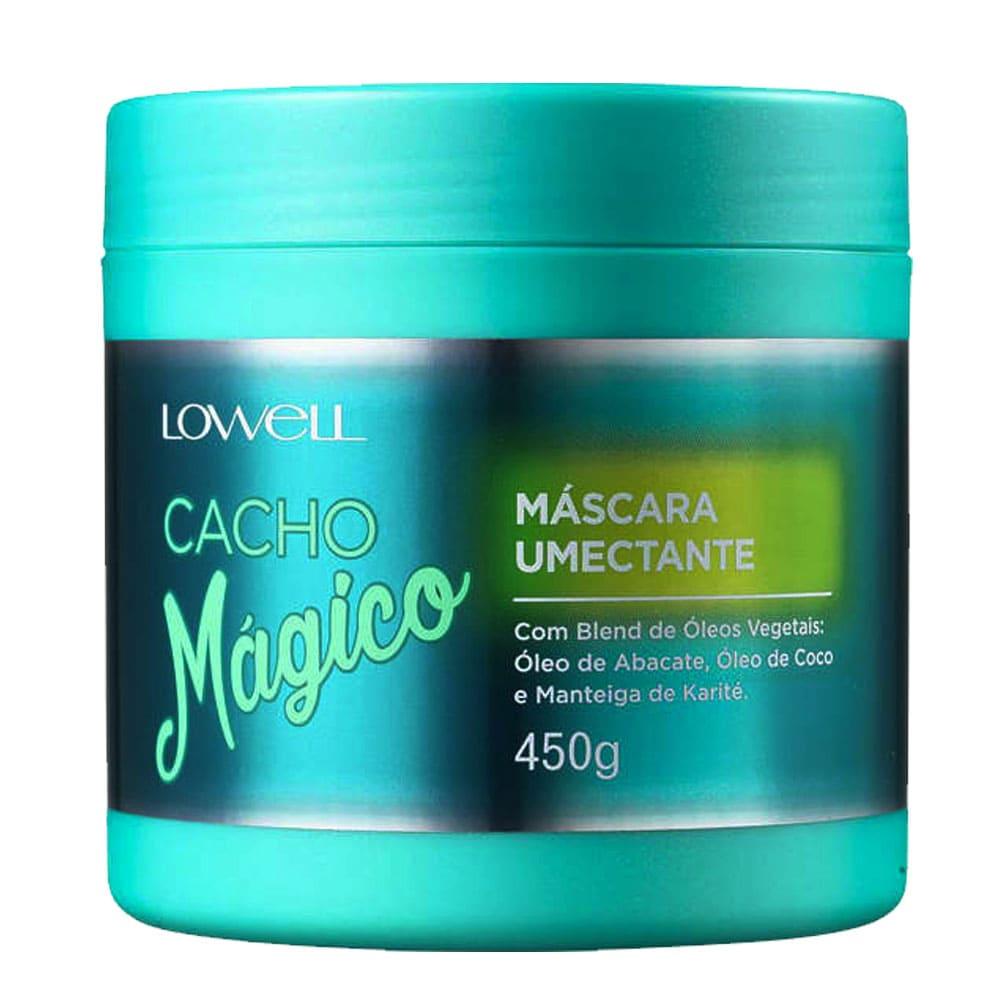 Máscara Umectante Lowell Cacho Mágico 450g