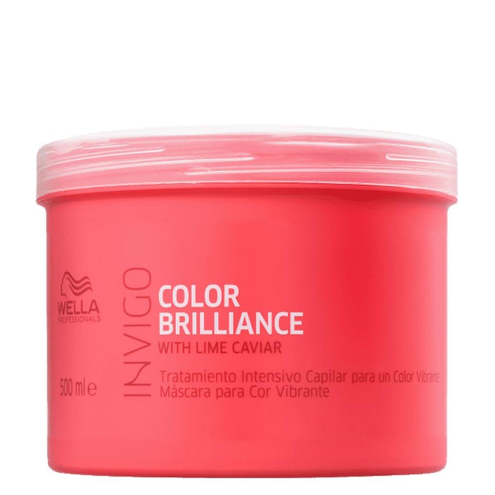 Máscara Wella Invigo Color Brilliance 500g