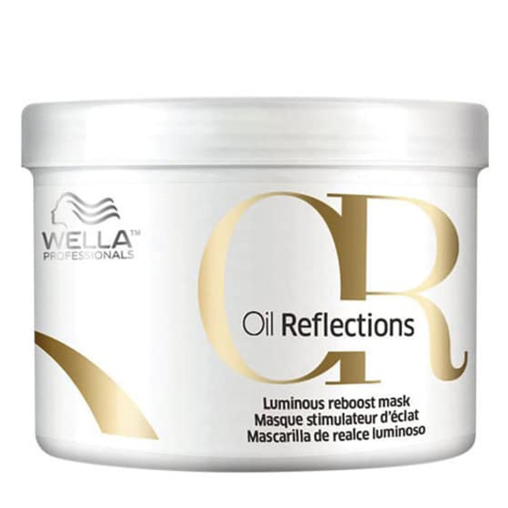 Máscara Wella Oil reflections 500g