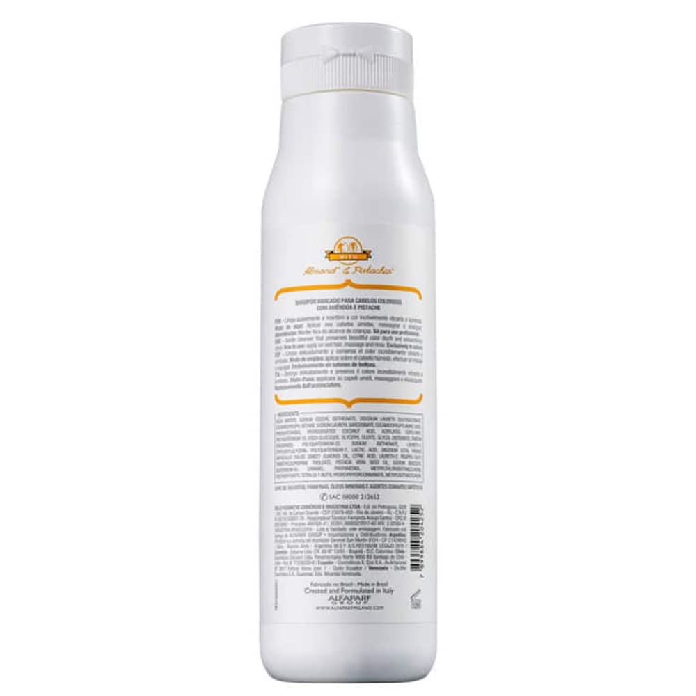 Shampoo Alfaparf Precious Nature Amêndoas e Pistache 250ml