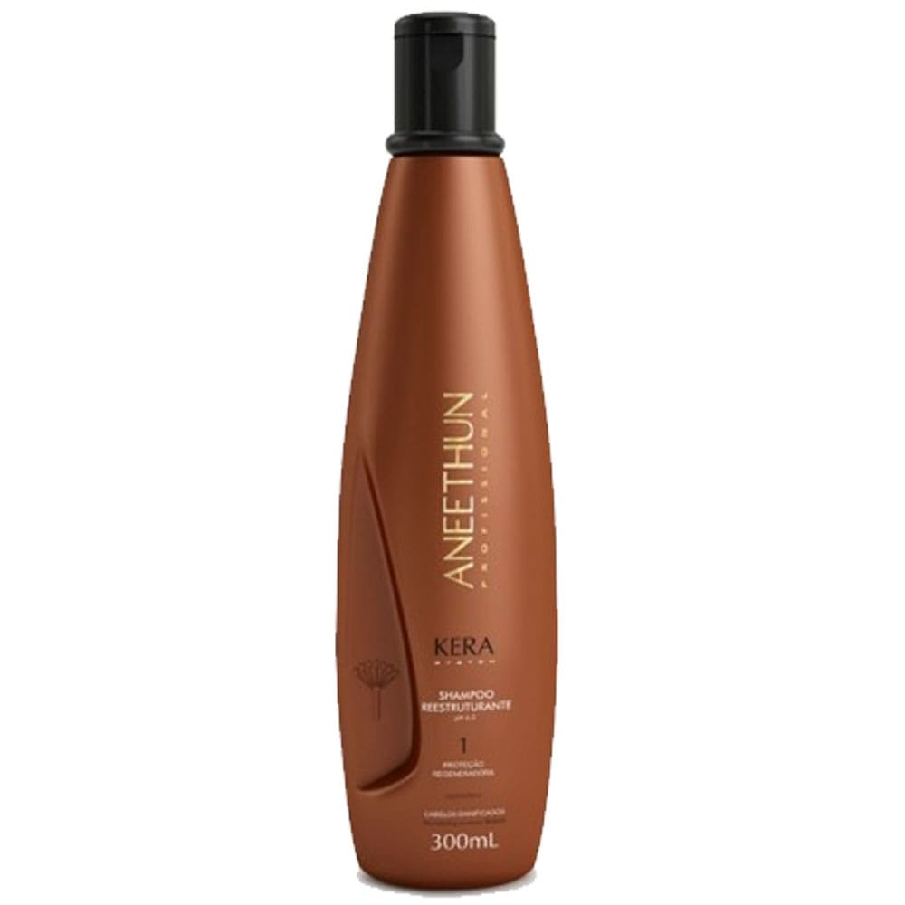 Shampoo Aneethun Reestruturante Kera System 300ml