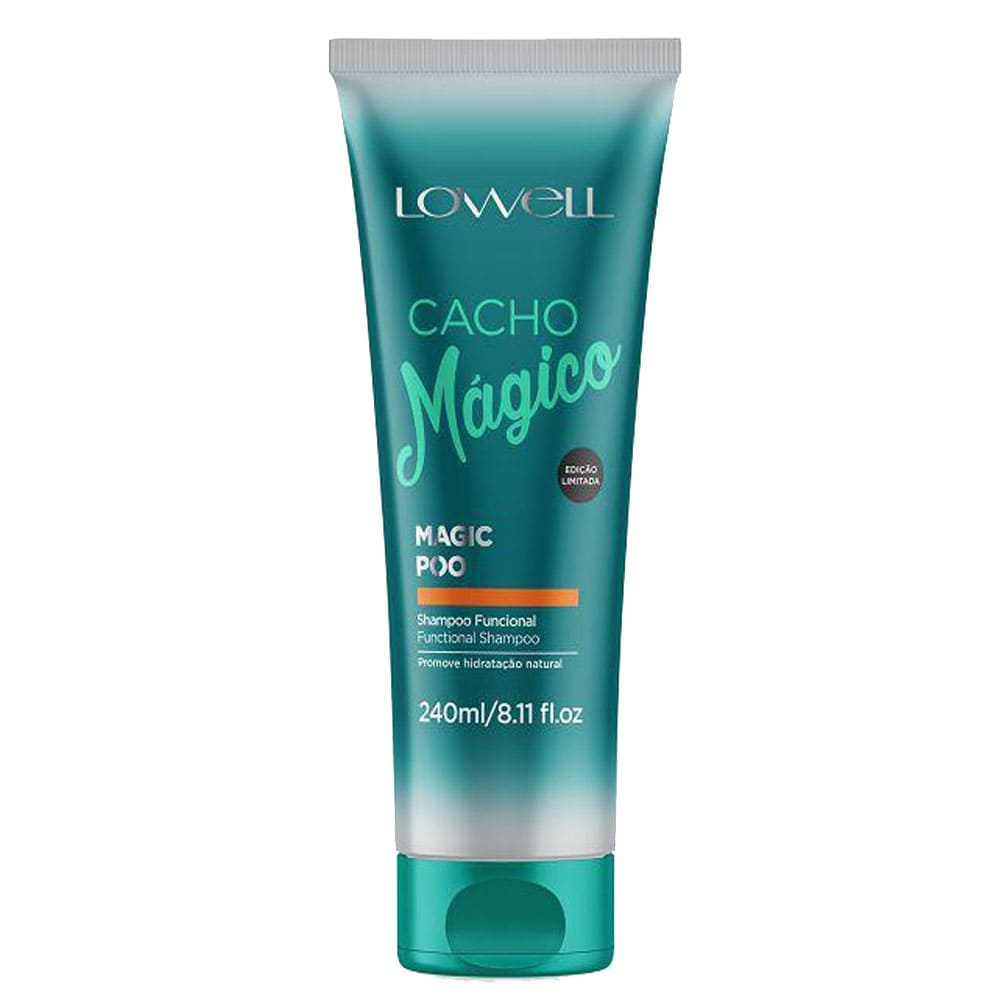 Shampoo Lowell Cacho Mágico Magic Poo 240ml