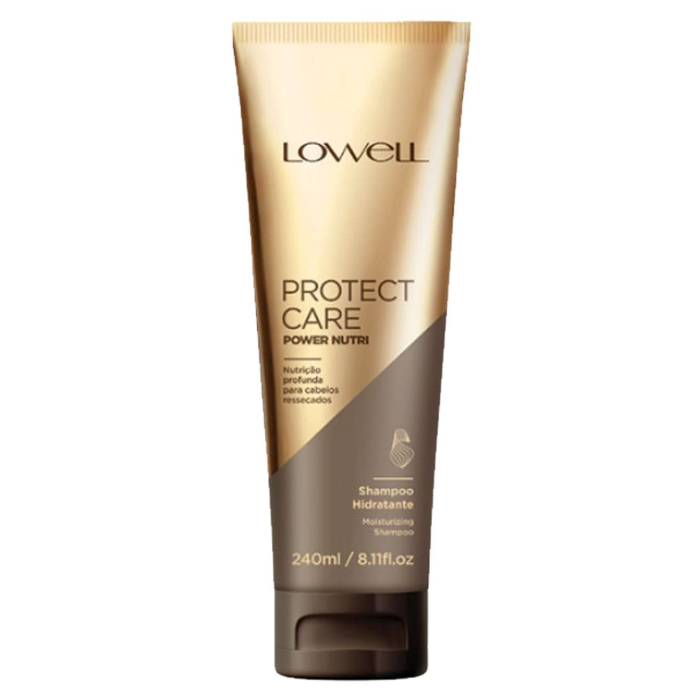 Shampoo Lowell Protect Care Power Nutri Hidratante 240ml