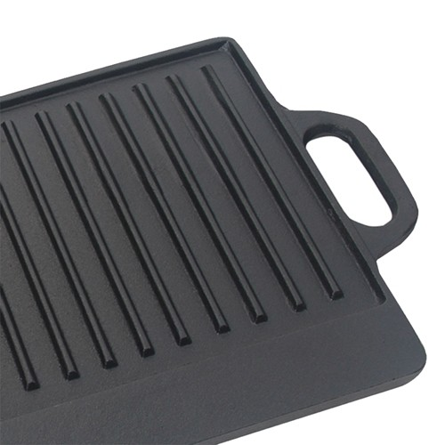 Chapa De Ferro Grill Reversível 51x23cm Mta