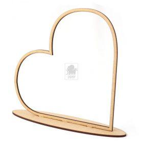 10 Centro de Mesa Arco Coração