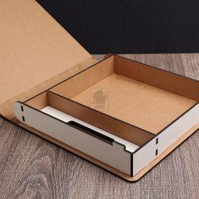 Caixa Fotos Fotografia para Pendrive e Espaço para Case DVD Bluray