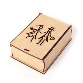 10 Caixa Retangular Para Lembrancinhas Noivado Namorados
