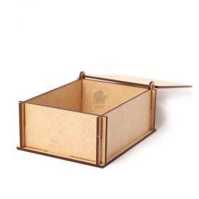 10 Caixa Retangular Pequena Lembrancinhas Noivados Namorados