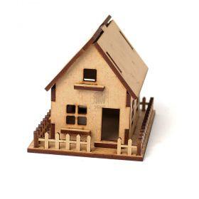 Casinha Pequena personalizada para lembrancinha ou decoração - MDF - Yper Criativo