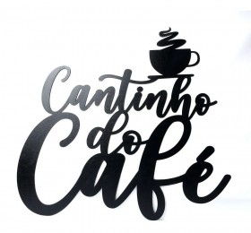 Frase Decorativa Cantinho Do Café