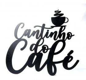 Frase Decorativa Cantinho Do Café