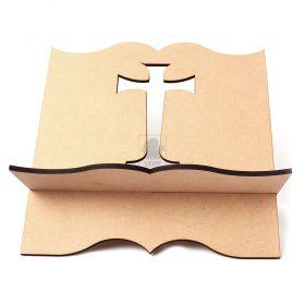Porta Biblia Cruz Grande MDF 6mm - Yper Criativo