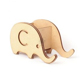 Porta Caneca / Treco Elefante MDF - Yper Criativo
