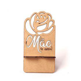 10 Porta Celular Lembrancinha Rosa Dia das Mães Te Amo