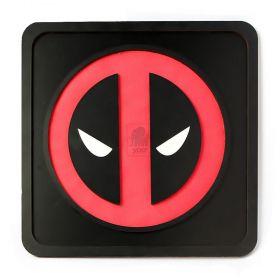 Quadro Deadpool Alto Relevo 3d Super Heróis