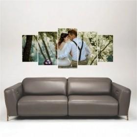 Quadro Painel Decorativo Personalizado com sua foto 136x60cm