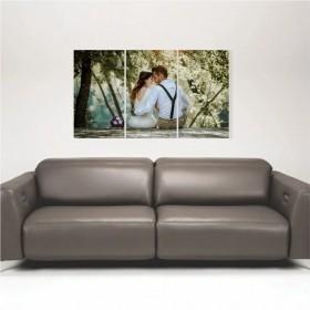 Quadro Painel Decorativo Personalizado com sua foto 85x50cm