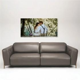 Quadro Painel Decorativo Personalizado com sua foto 89x46cm