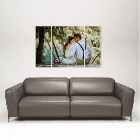 Quadro Painel Decorativo Personalizado com sua foto 91x60cm