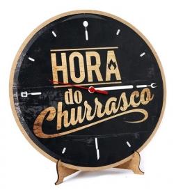 Relógio Hora Do Churrasco