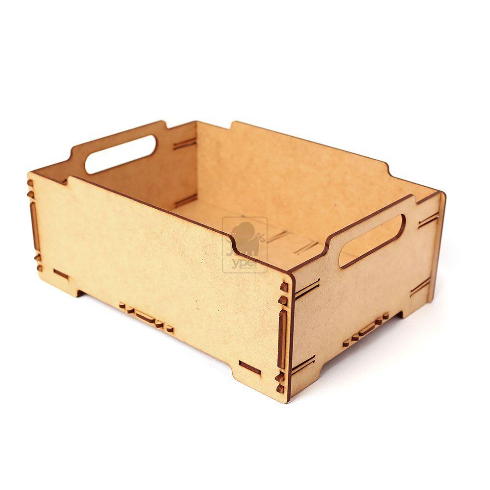 Caixa Organizadora Empilhável de Encaixe MDF 3mm