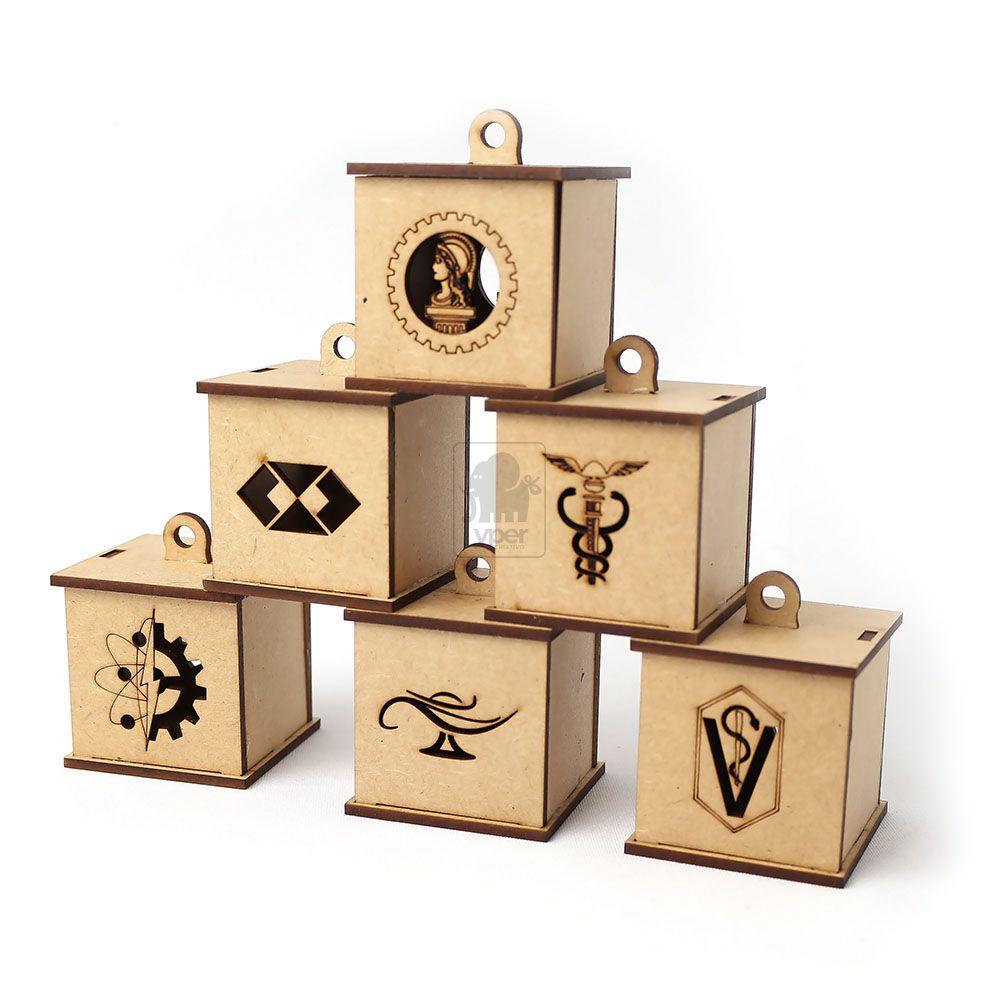 10 Caixas Personalizada para Lembrancinha de Curso Formatura