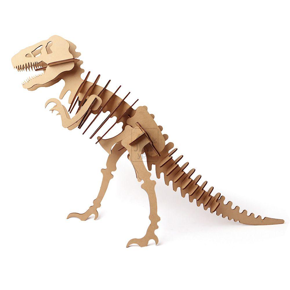 Dinossauro Tiranossauro Rex T-REX Quebra Cabeça 3d