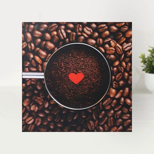 Kit Cantinho Do Café 5 Quadros Decorativos