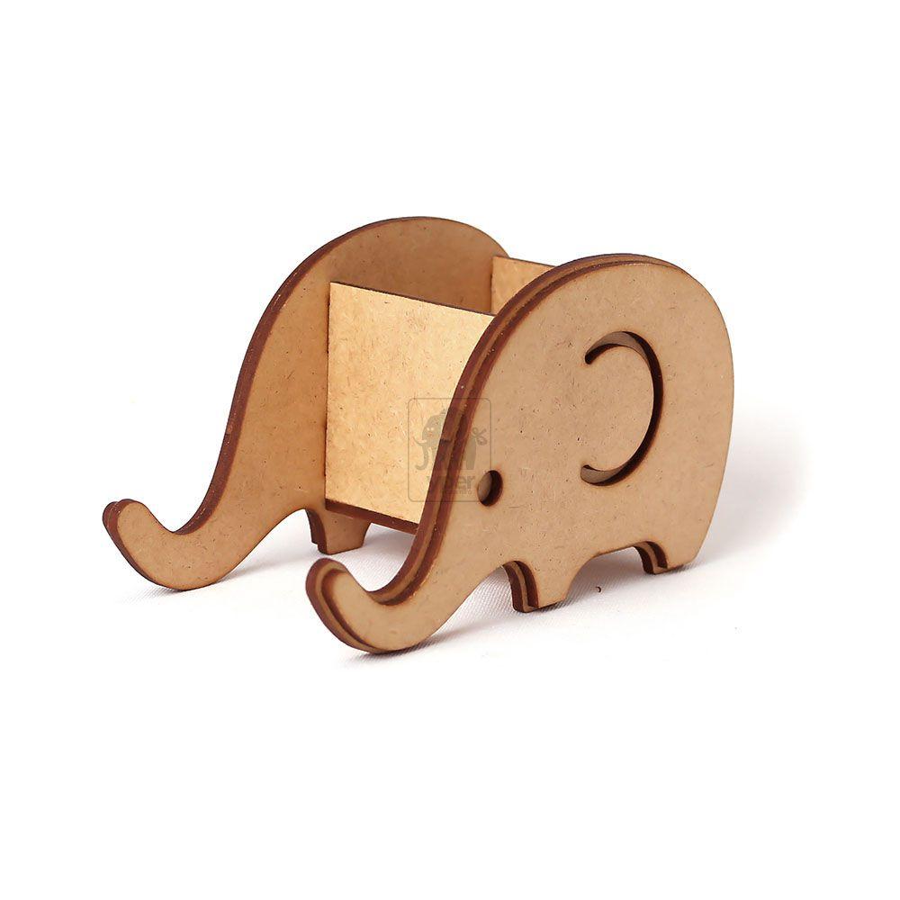 Porta Caneca Treco Elefante MDF