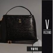 Bolsa Tote  Vizzano  Preta 10008.1.21102.15745