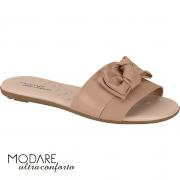 Sandália Feminina Casual Rasteira com Laço Modare MO123