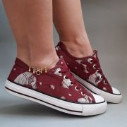 TÊNIS CASUAL STREET STAR BORDO