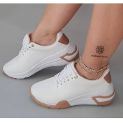 Tênis Dad Sneaker Vizzano Chunky Plataforma Feminino