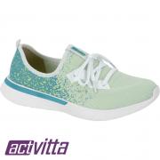 Tênis Feminino Esportivo Actvitta  Branco AC102