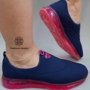 Tênis Feminino Esportivo para caminhada Actvitta Slip On ACT404