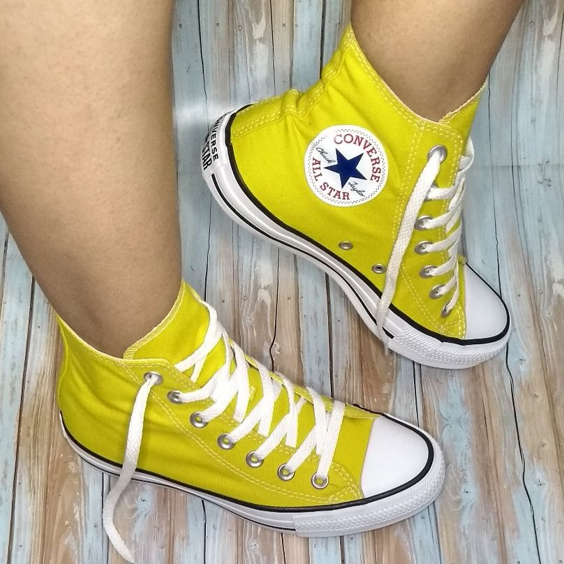 ALL STAR CT AMARELO CANO ALTO