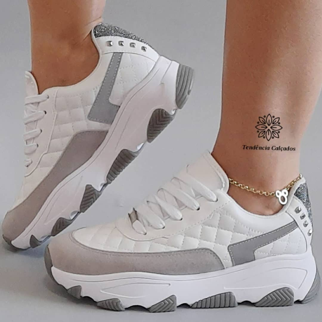 Tênis Feminino Dad Sneaker Vizzano V102