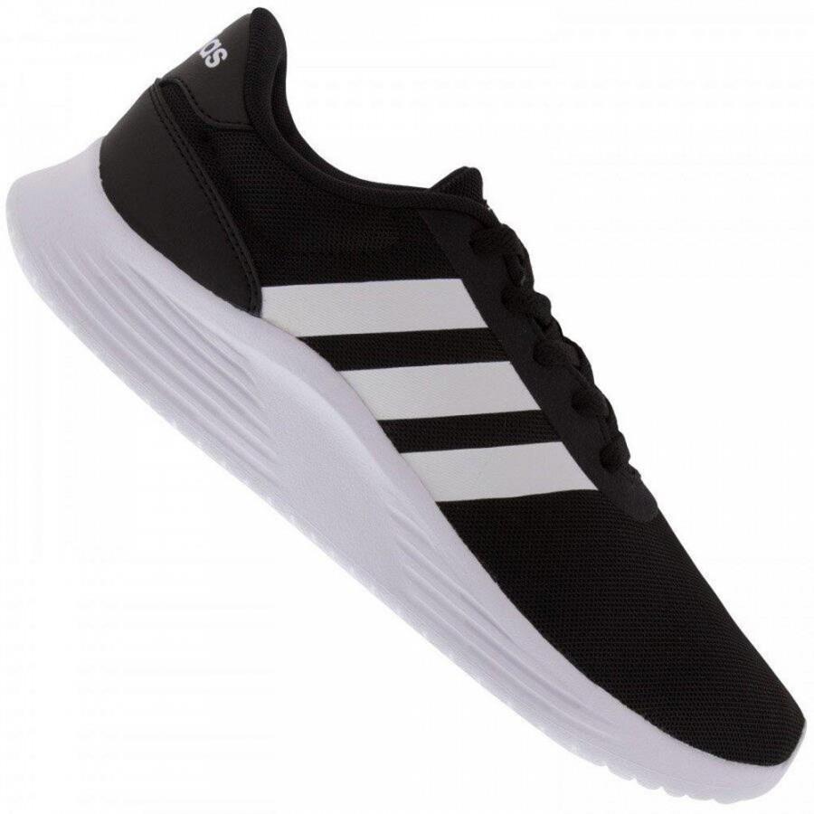 Tenis adidas masculino Lite preto branco