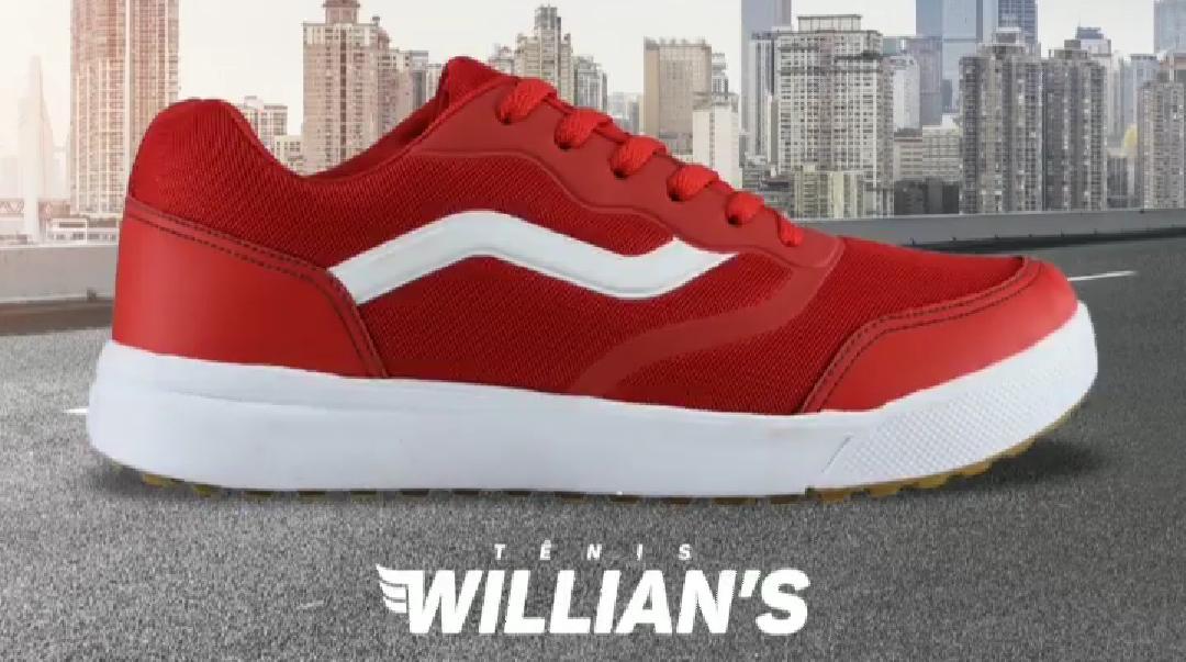 Tênis Casual Unissex Willian's