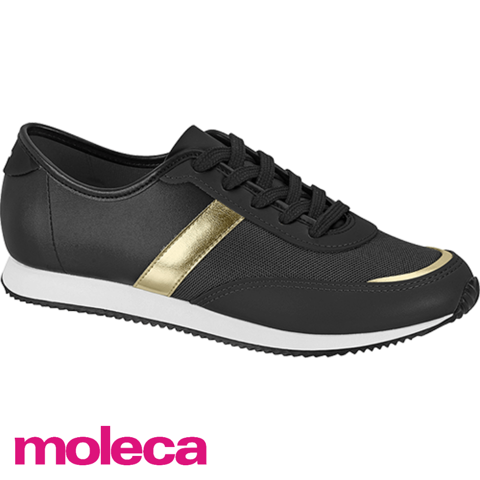 Tênis Feminino Casual Moleca Jogging M320
