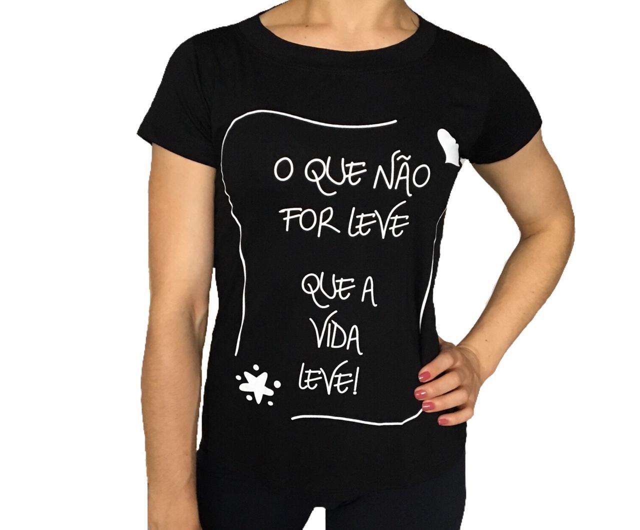 29f1ae2145 Kit 4 T Shirts Blusa Feminina - LUANA MODAS
